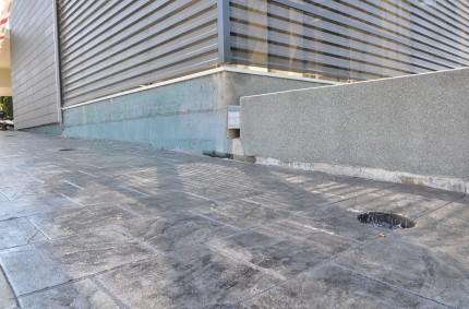 Hormigón Impreso en Clinica Montecanal